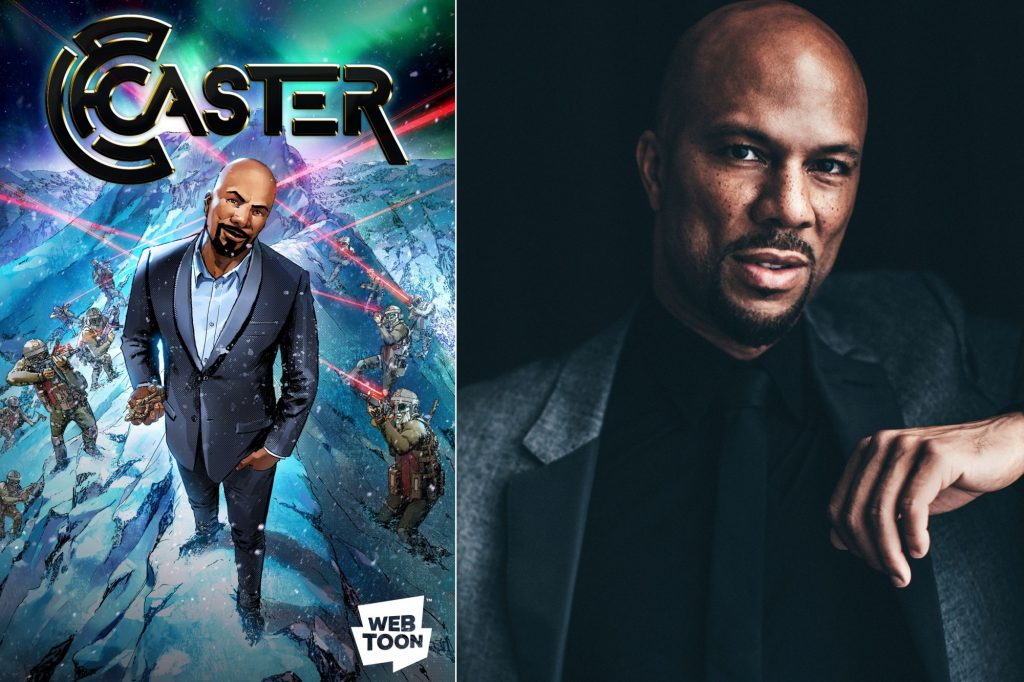 Prolific Hip Hop Artist Common is all set to star in a 2018 comic book series as Caster.