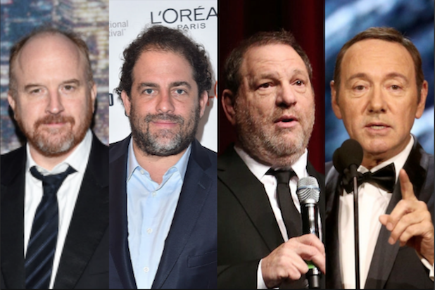 Harvey Winstein, Kevin Spacey and other actors in the media for sexual misconduct